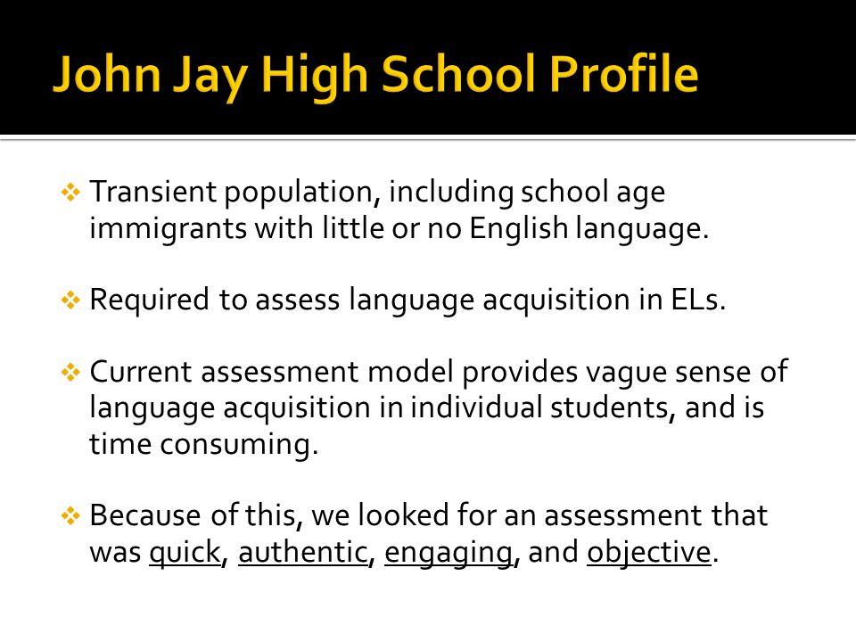 John Jay High School Profile