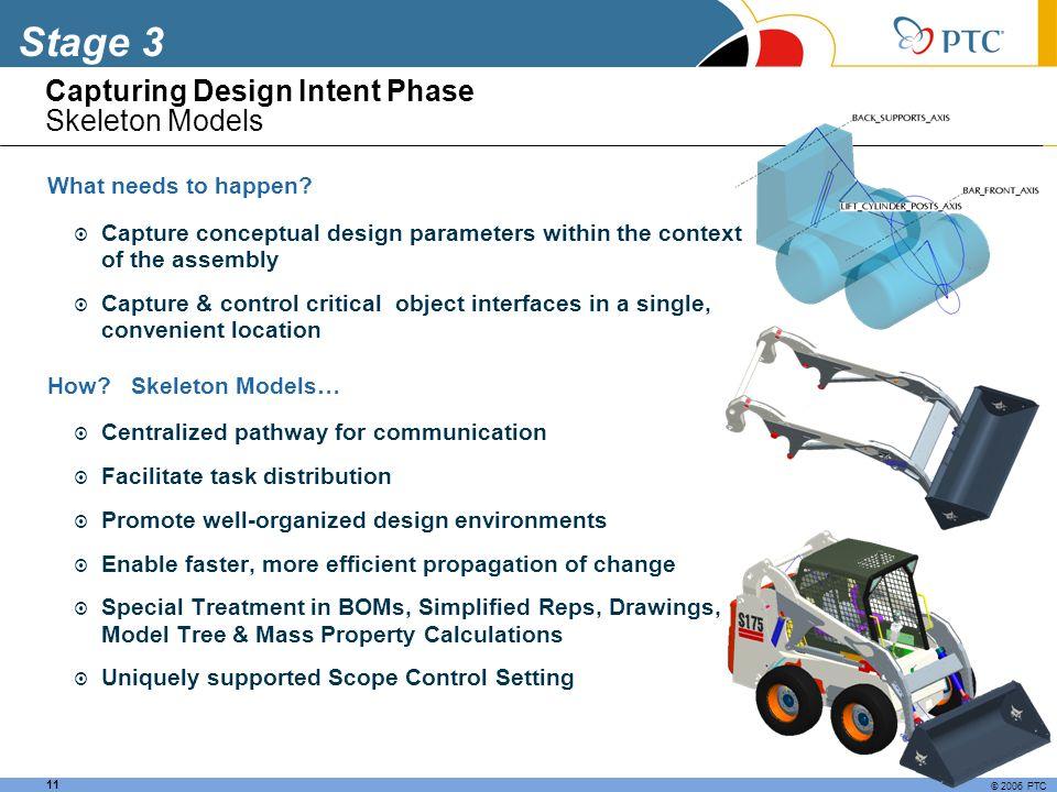 Capturing Design Intent Phase Skeleton Models