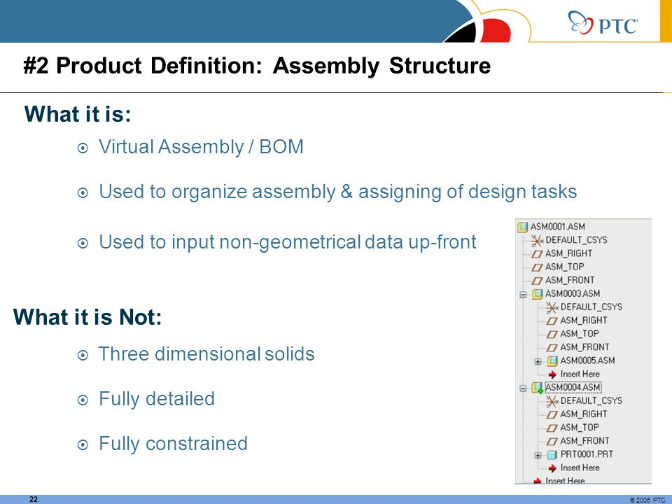 #2 Product Definition: Assembly Structure