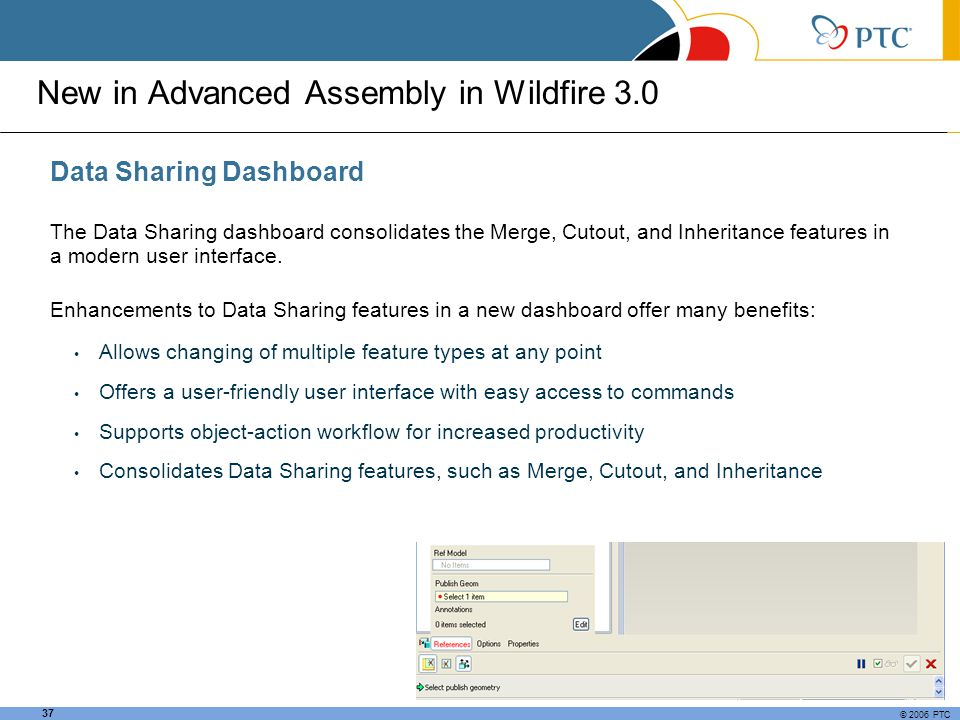 New in Advanced Assembly in Wildfire 3.0