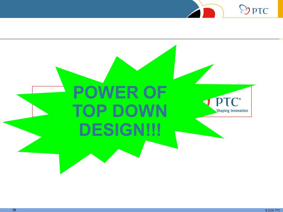 POWER OF TOP DOWN DESIGN!!!