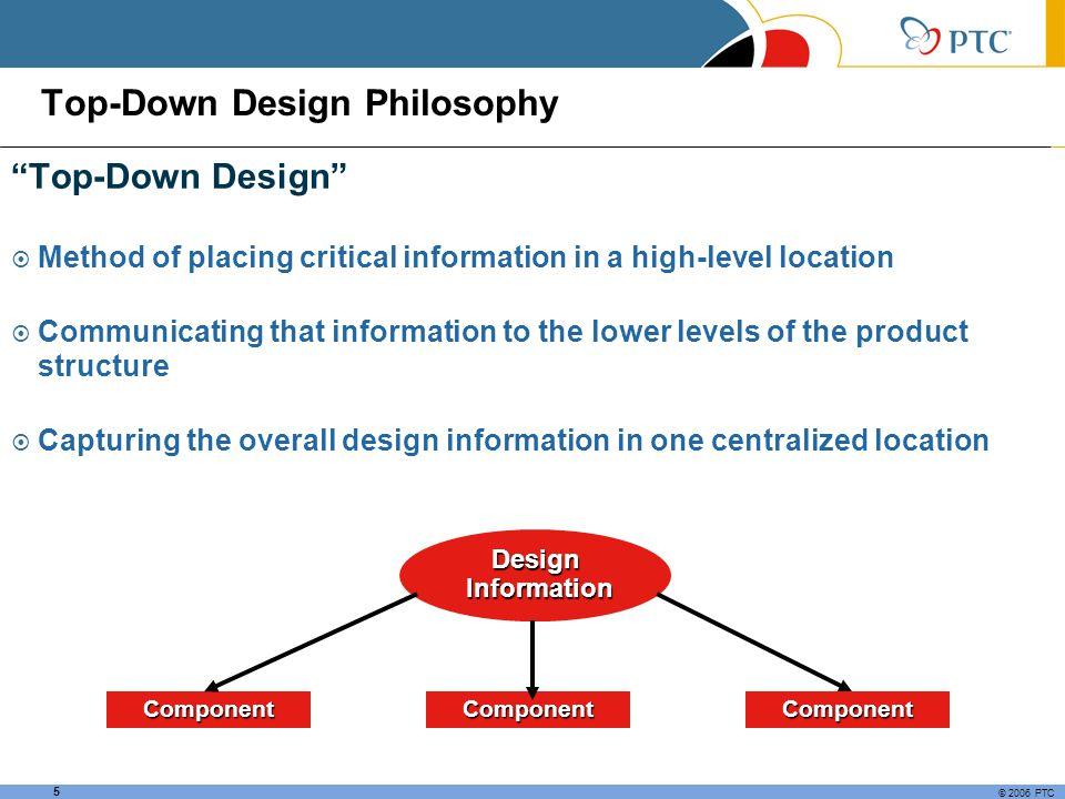Top-Down Design Philosophy