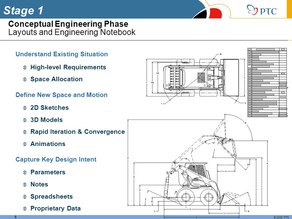 Conceptual Engineering Phase Layouts and Engineering Notebook
