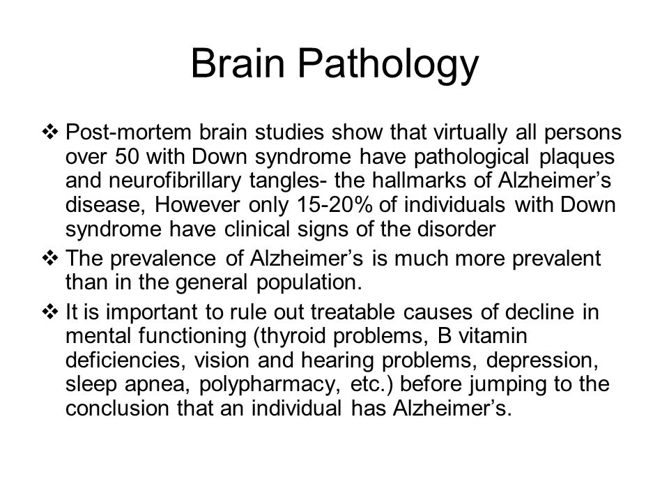 Brain Pathology