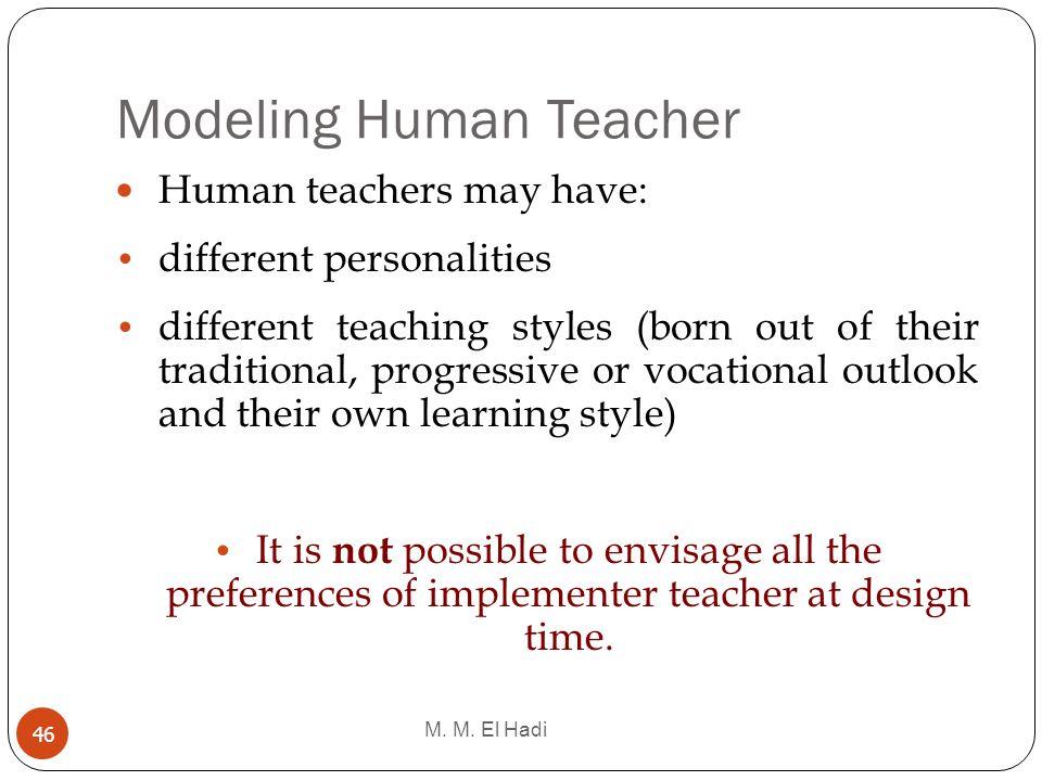 Modeling Human Teacher