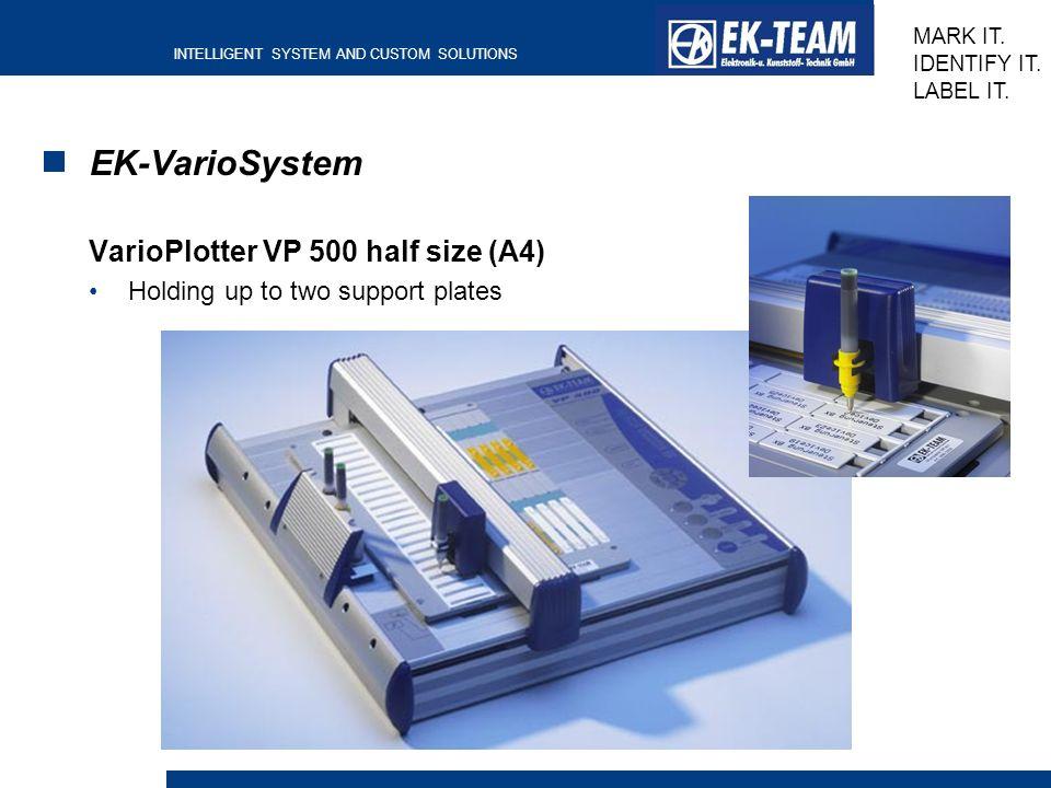 EK-VarioSystem VarioPlotter VP 500 half size (A4)