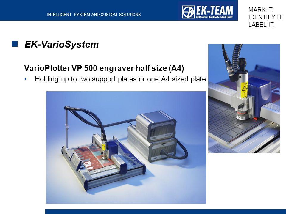 EK-VarioSystem VarioPlotter VP 500 engraver half size (A4)