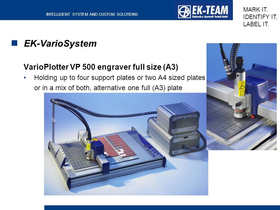 EK-VarioSystem VarioPlotter VP 500 engraver full size (A3)