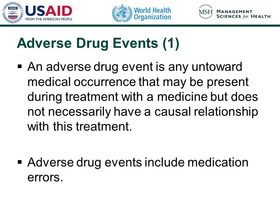 Adverse Drug Events (1)