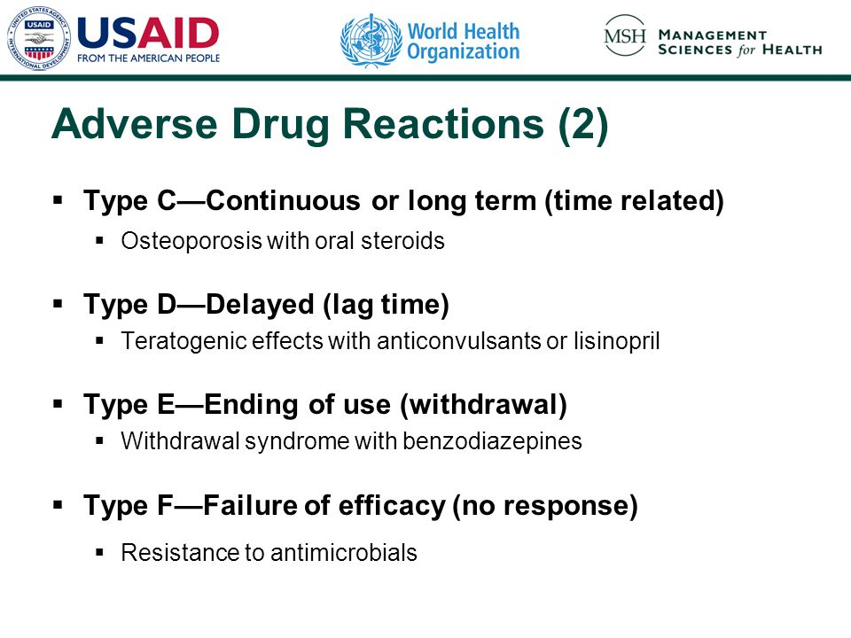 Adverse Drug Reactions (2)