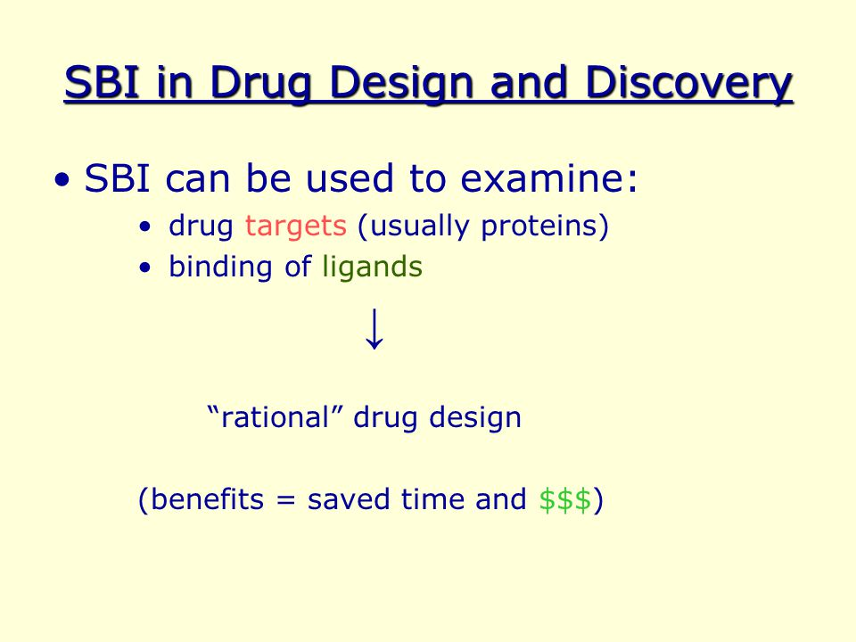 SBI in Drug Design and Discovery
