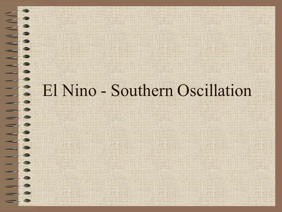 El Nino - Southern Oscillation