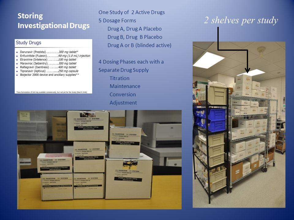 Storing Investigational Drugs