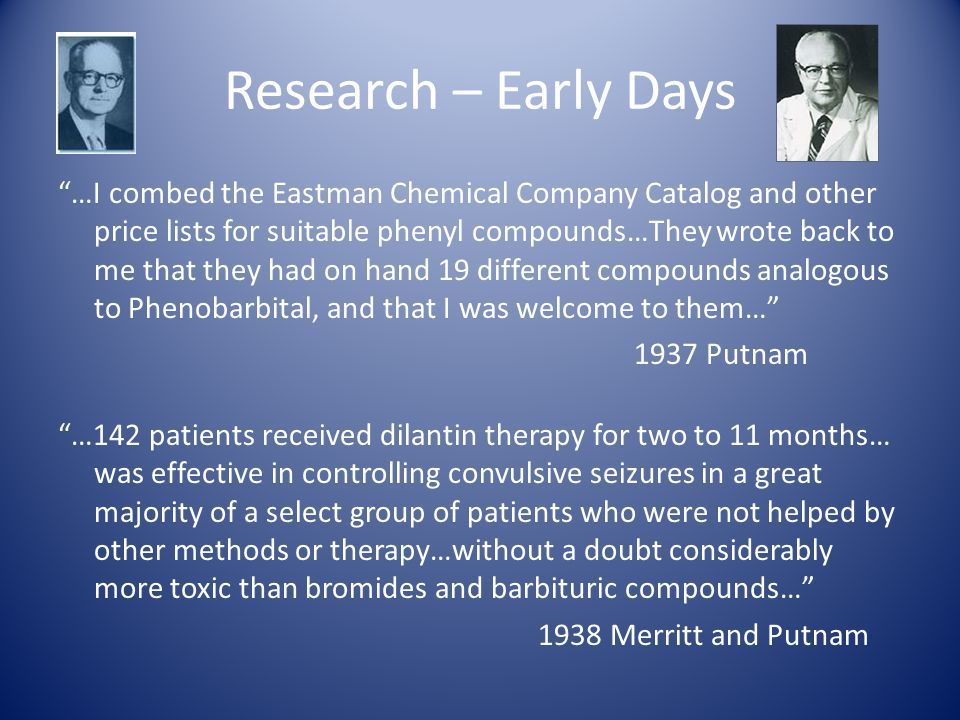 Research – Early Days