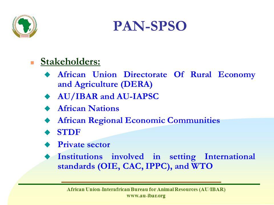PAN-SPSO Stakeholders:
