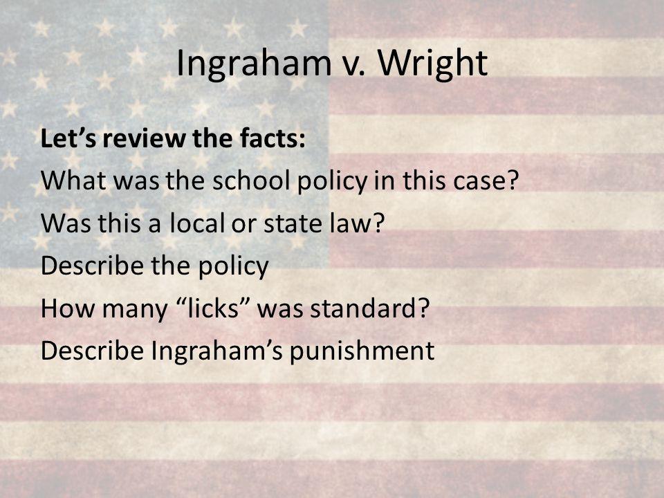 Ingraham v. Wright
