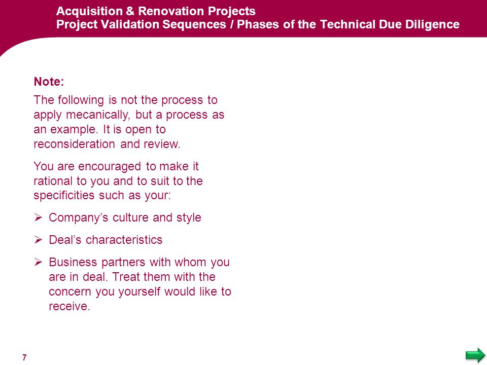 Company's culture and style Deal's characteristics