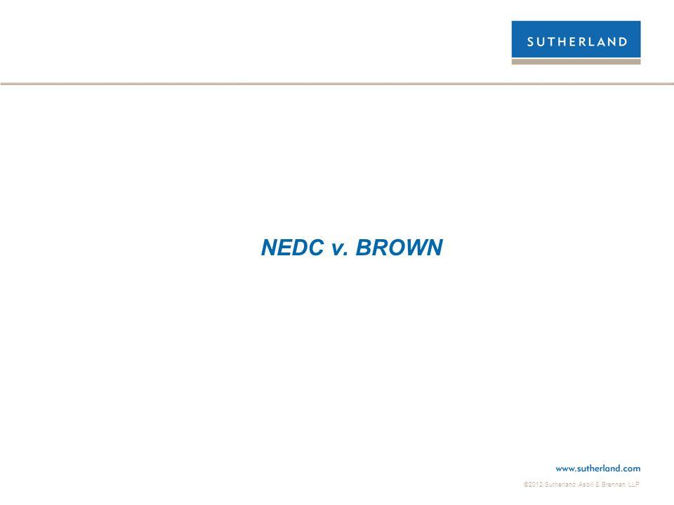 NEDC v. BROWN