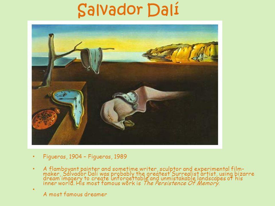 Salvador Dalí Figueras, 1904 – Figueras, 1989