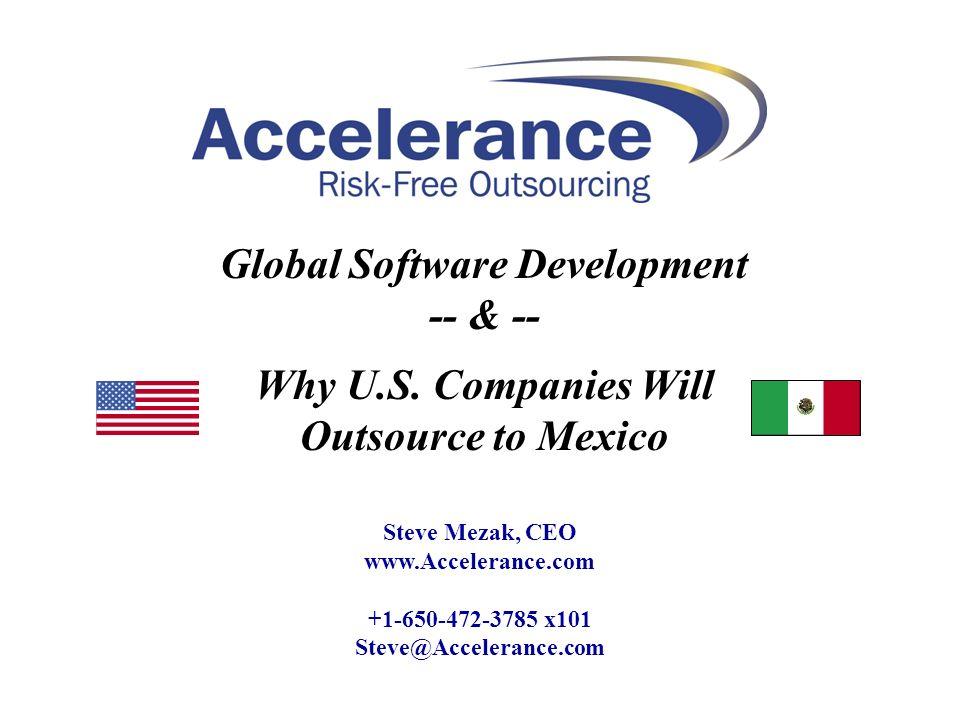 Global Software Development -- & --