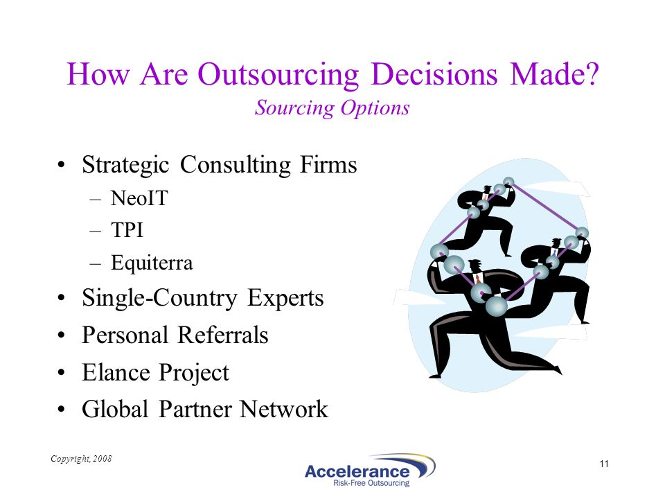 How Are Outsourcing Decisions Made Sourcing Options