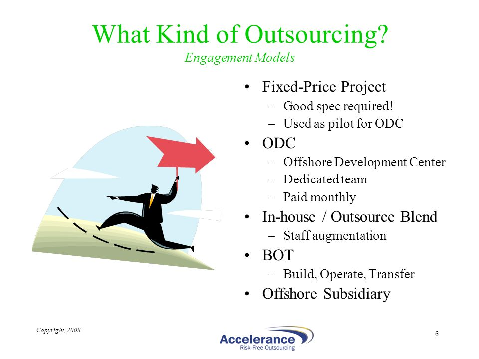 What Kind of Outsourcing Engagement Models