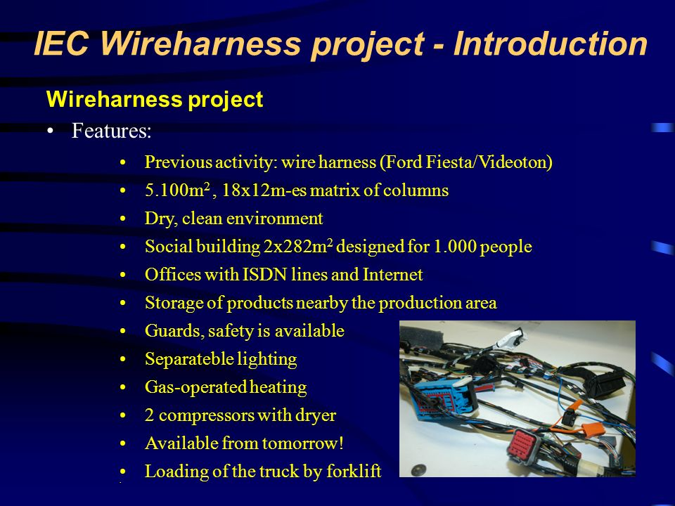 IEC Wireharness project - Introduction