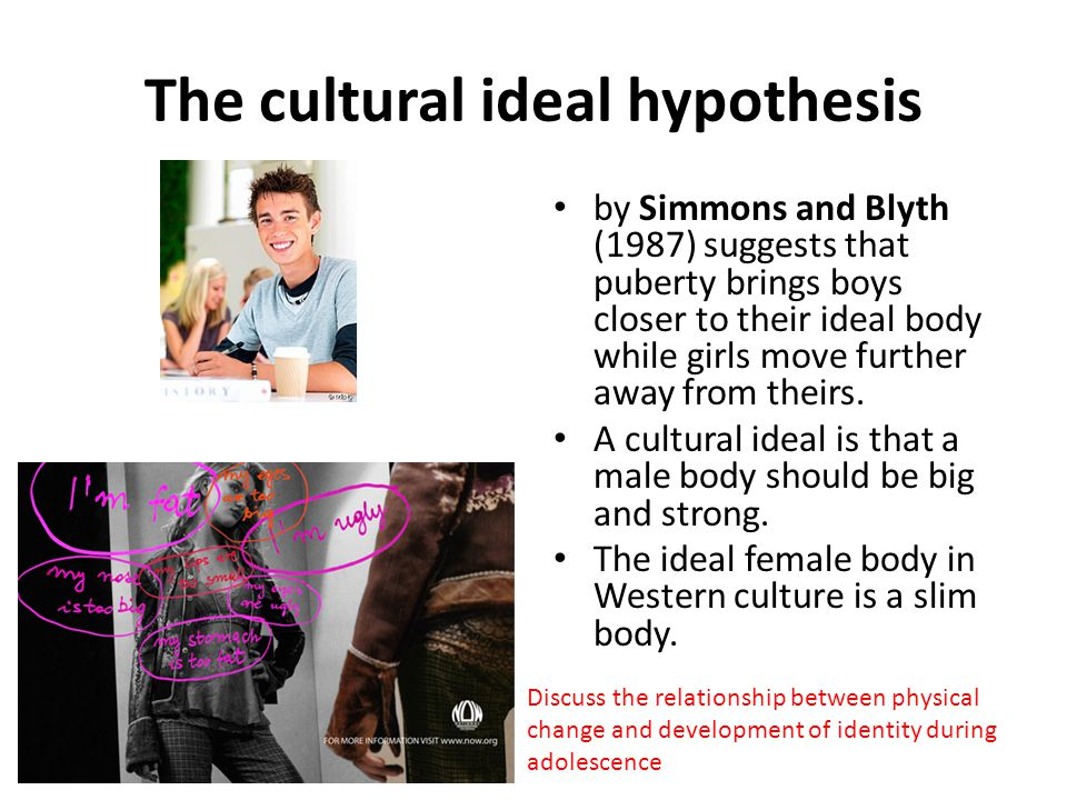 The cultural ideal hypothesis