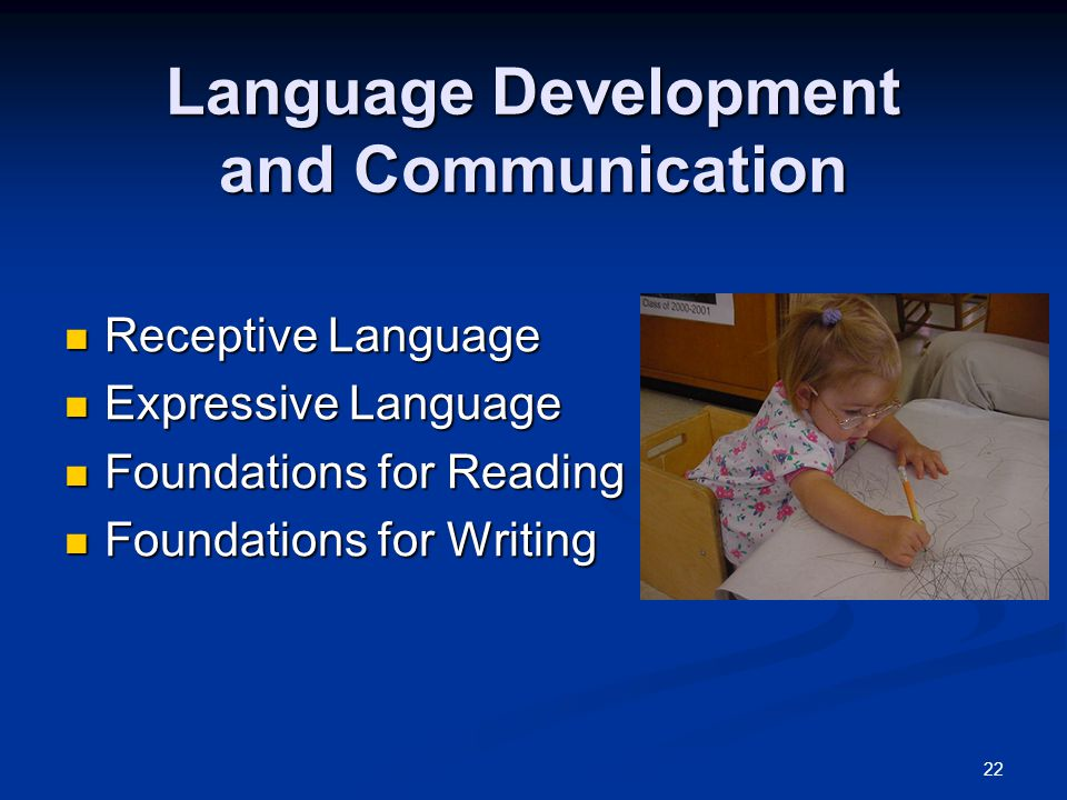 Language Development and Communication
