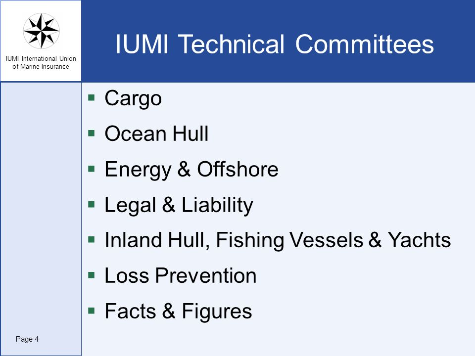 IUMI Technical Committees
