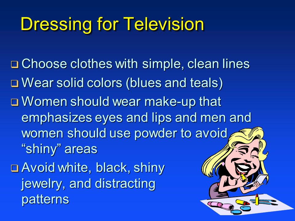 Dressing for Television
