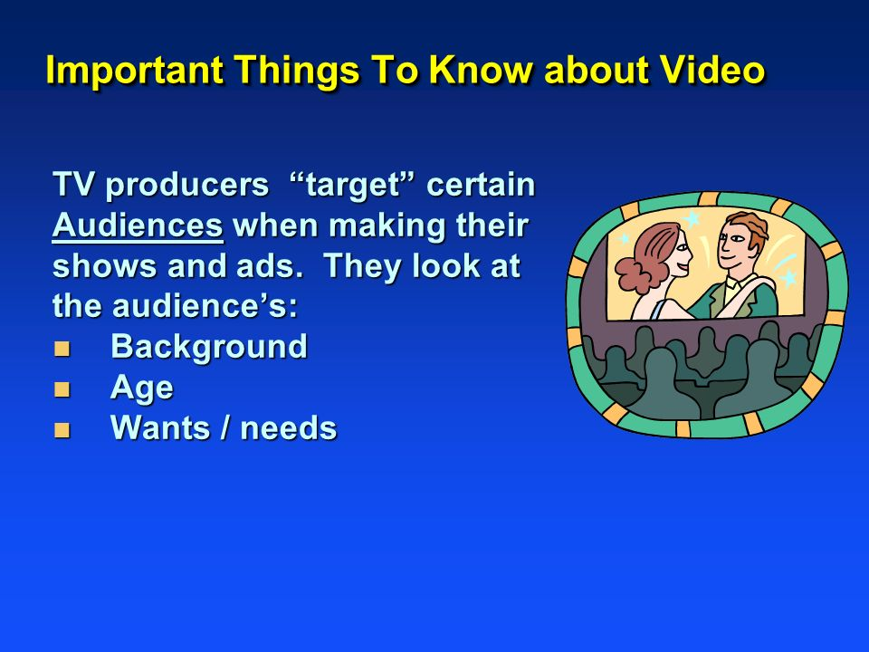 Important Things To Know about Video