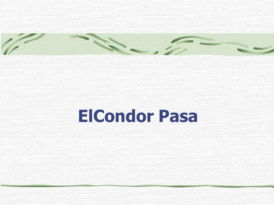 ElCondor Pasa