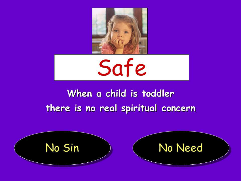 there is no real spiritual concern