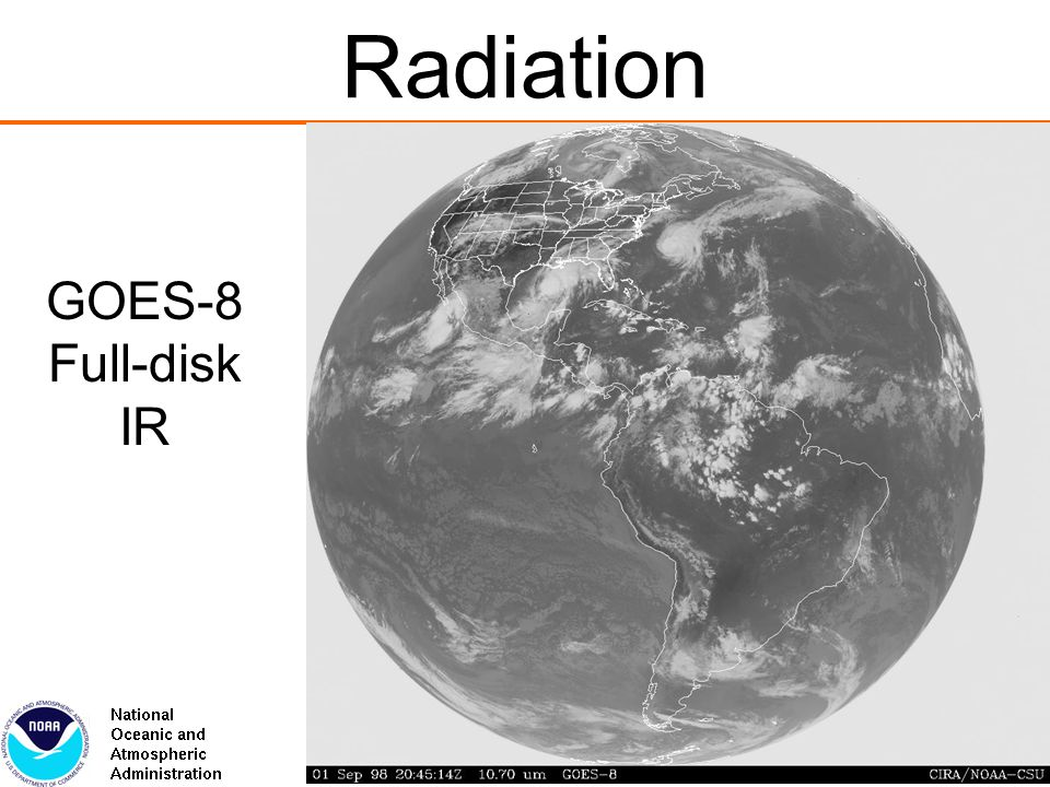 Radiation GOES-8 Full-disk IR