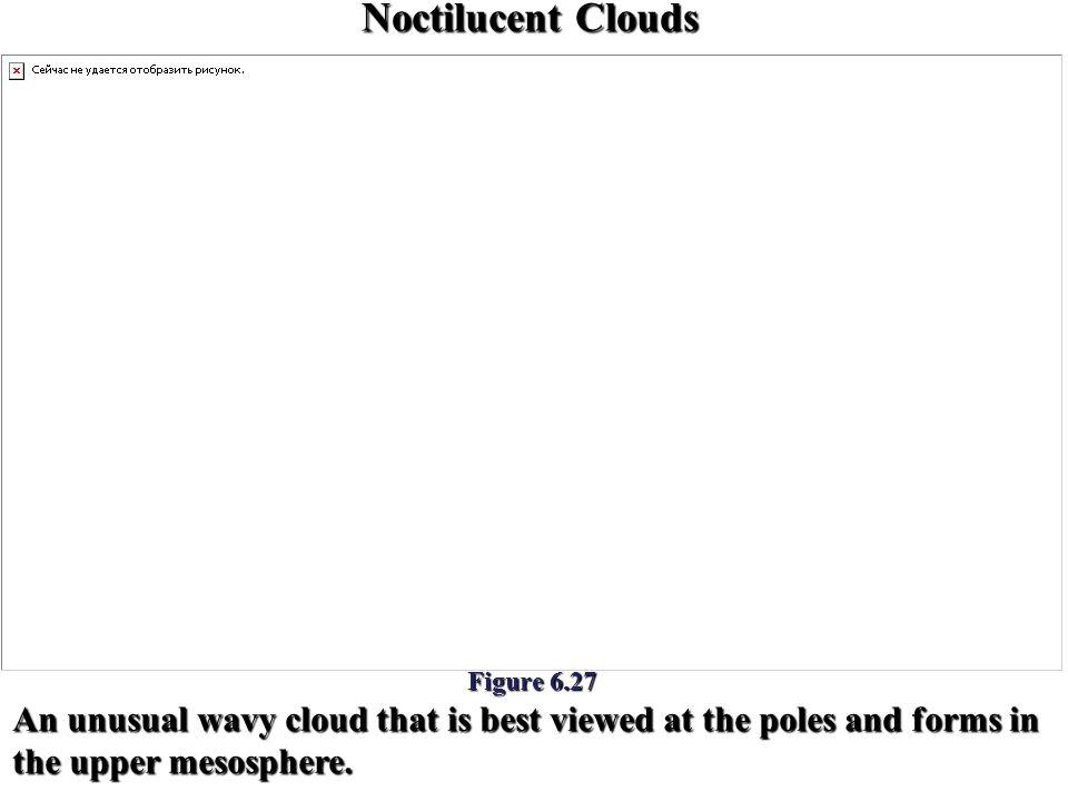 Noctilucent Clouds Figure 6.27.