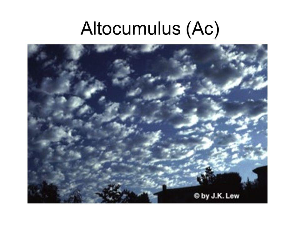 Altocumulus (Ac)