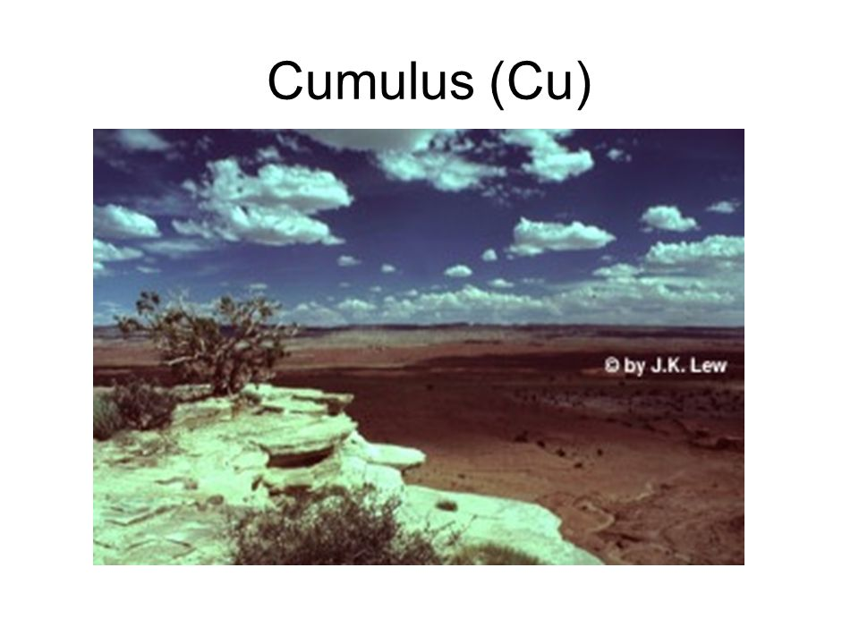 Cumulus (Cu)