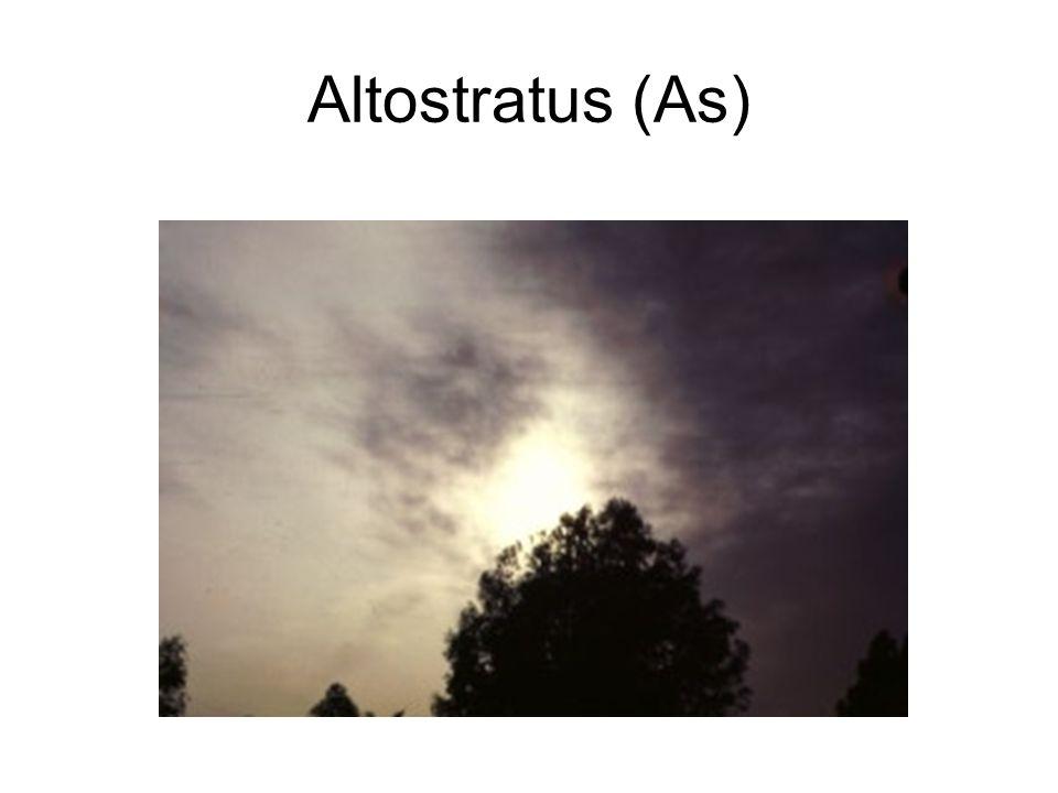 Altostratus (As)