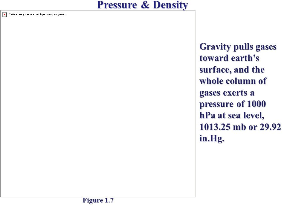 Pressure & Density