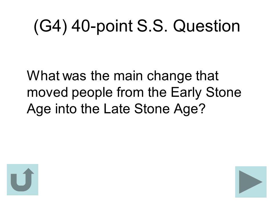 (G4) 40-point S.S.