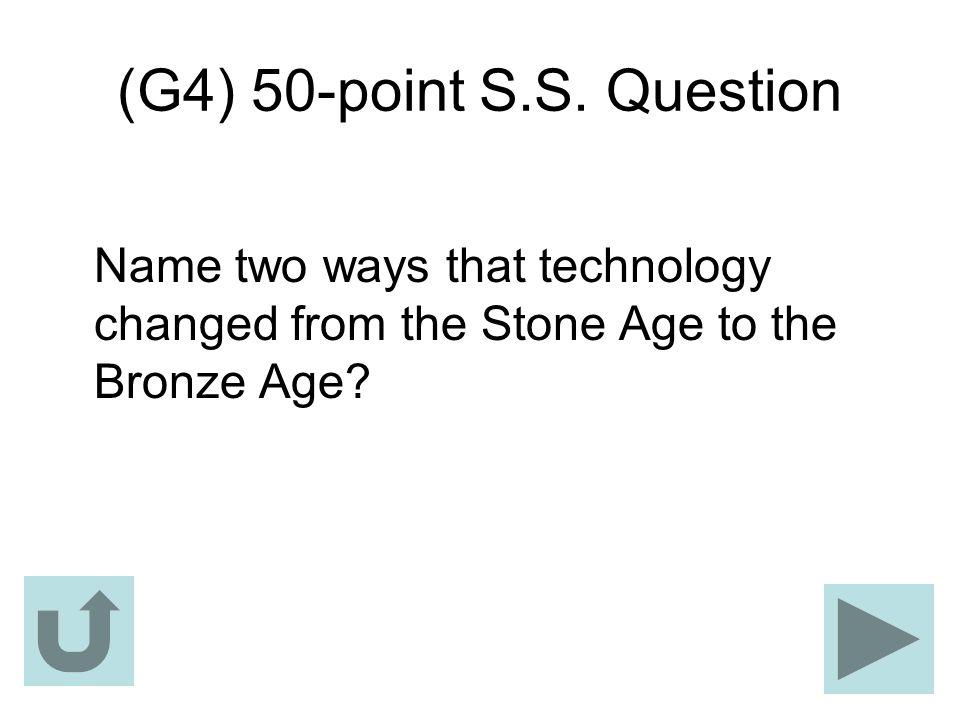 (G4) 50-point S.S.