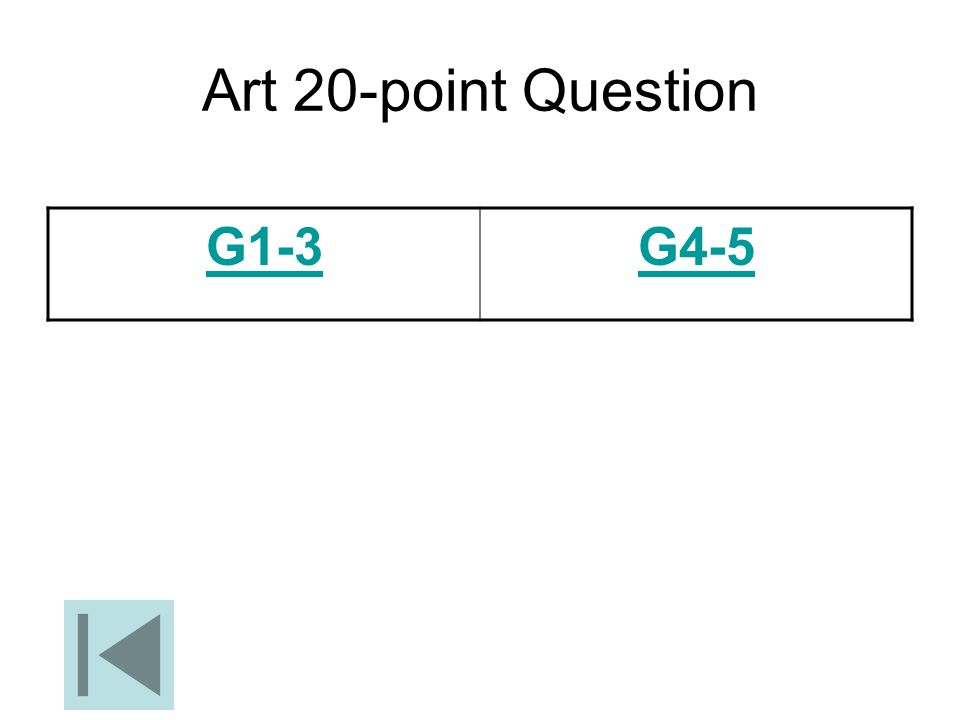 Art 20-point Question G1-3 G4-5