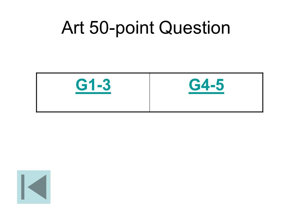 Art 50-point Question G1-3 G4-5
