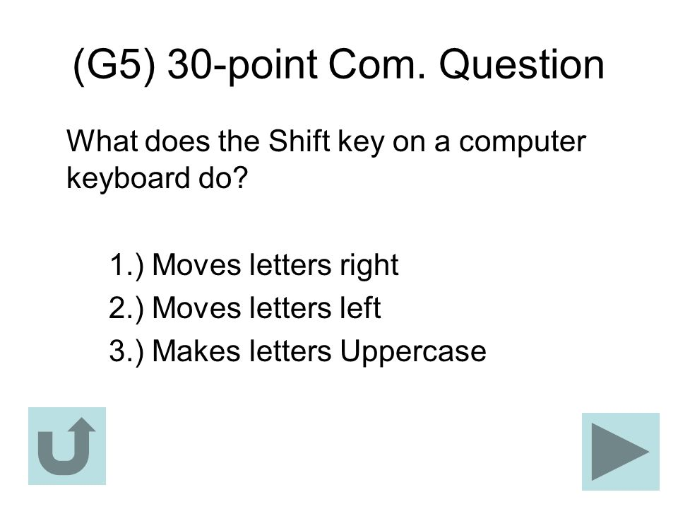 (G5) 30-point Com. Question