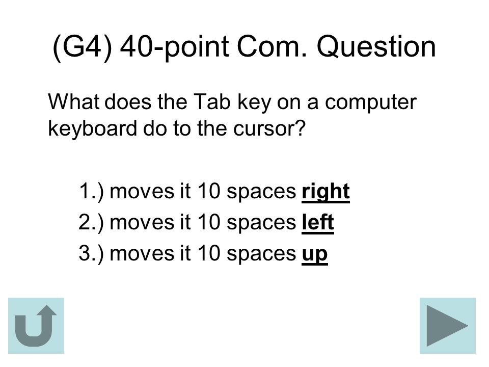 (G4) 40-point Com. Question
