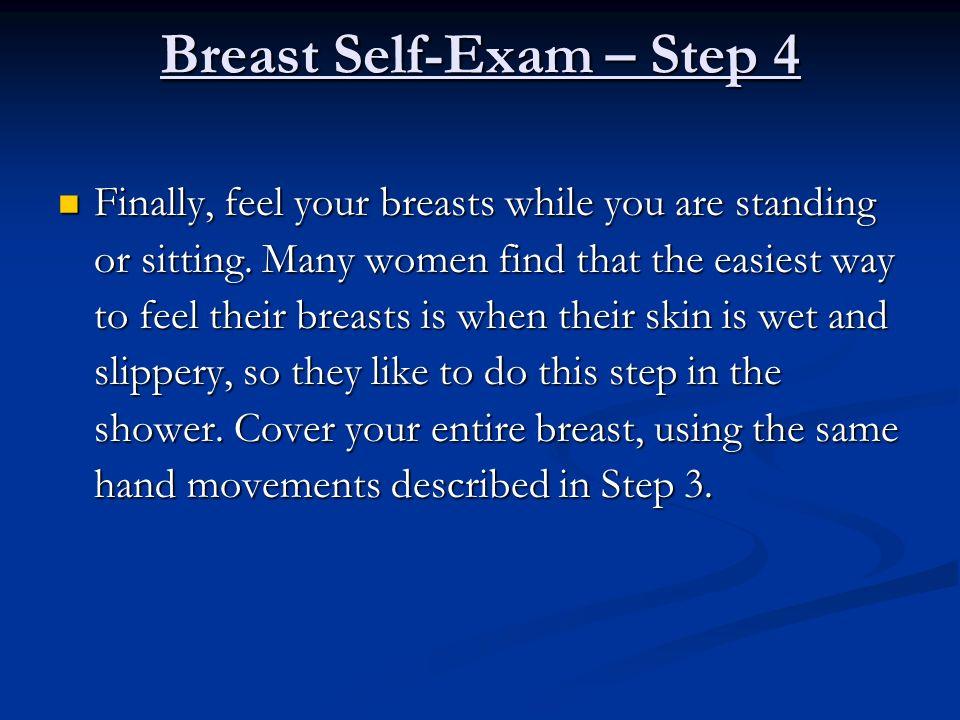 Breast Self-Exam – Step 4