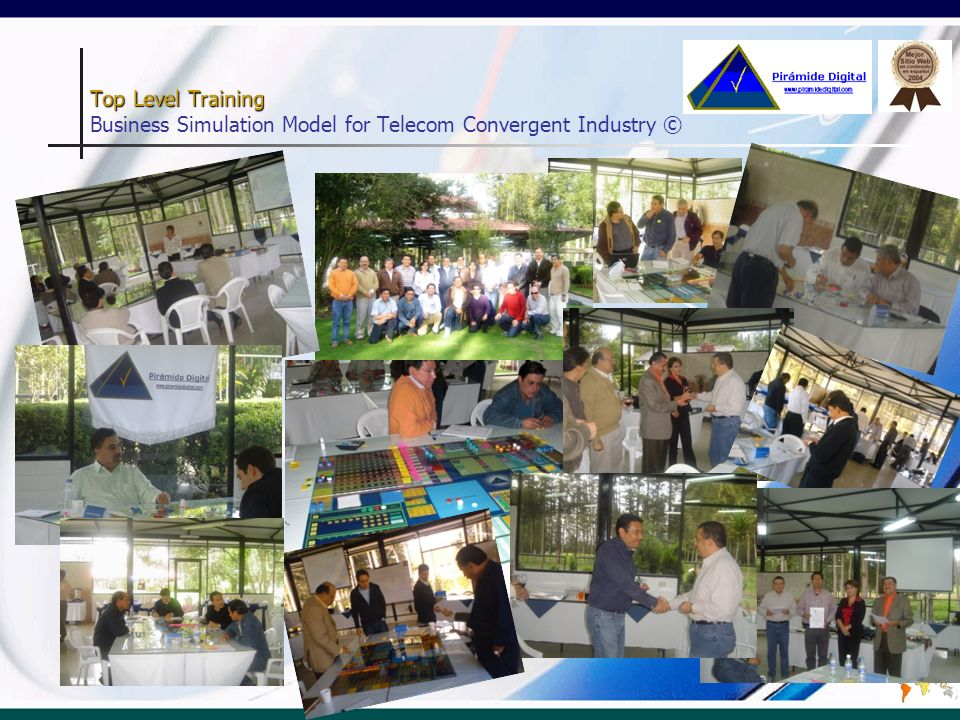 Top Level Training Business Simulation Model for Telecom Convergent Industry ©