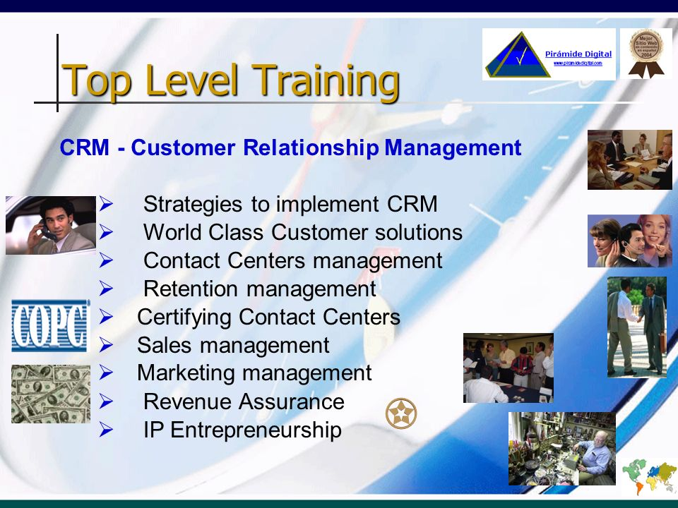 Top Level Training CRM - Customer Relationship Management