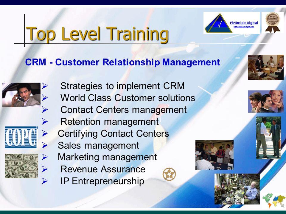 Top Level Training CRM - Customer Relationship Management